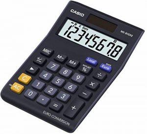 Casio MS-8VERII Calculatrice financière touche euro Noir de la marque Casio image 0 produit