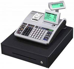 Casio s400mb 1b-sr FIS gdpdu enfichables Caisse enregistreuse Inclusive Pile et logiciel licence, SD Card pack complet et Hot Line gratuite, argent/noir de la marque Casio image 0 produit