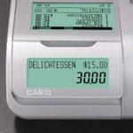 Casio-sE c450MB gDPdU-fIS-caisse enregistreuse softwarelizenz, avec fente pour carte sD et de résiliation de batterie et complet hotline inclus (français non garanti) noir de la marque Casio image 1 produit