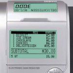 Casio-sE c450MB gDPdU-fIS-caisse enregistreuse softwarelizenz, avec fente pour carte sD et de résiliation de batterie et complet hotline inclus (français non garanti) noir de la marque Casio image 4 produit