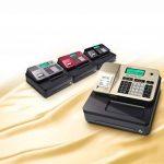 Casio SE-S100SB-GD-FIS Caisse enregistreuse enfichable GDPdU Avec licence pour logiciel d'utilisation, pile et carte SD, doré/noir de la marque Casio image 4 produit