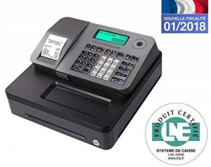 Casio SE-S100SB-SR-FR Caisse Enregistreuse Argent de la marque Casio image 0 produit