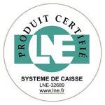 Casio SE-S100SB-SR-FR Caisse Enregistreuse Argent de la marque Casio image 1 produit