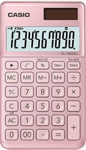 Casio SL 1000 SC PK Calculatrice de poche Rose de la marque Casio image 0 produit