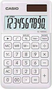 Casio SL 1000 SC WE Calculatrice de poche Blanc de la marque Casio image 0 produit