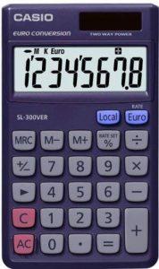 Casio SL 300 VER Calculatrice Bureau de la marque Casio image 0 produit