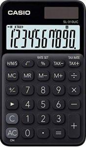 Casio SL 310UC BK Calculatrice de poche Noir de la marque Casio image 0 produit
