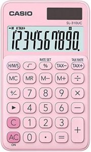 Casio SL 310UC PK Calculatrice de poche Rose de la marque Casio image 0 produit