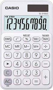Casio SL 310UC WE Calculatrice de poche Blanc de la marque Casio image 0 produit