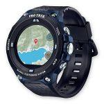 Casio wsd-f20a-buaae LCD GPS (Satellite) Noir, Bleu Montre Intelligente–Montre Smartwatch avec Écran LCD, Écran Tactile, WiFi, GPS (Lune), 90g, Noir, Bleu de la marque Casio image 1 produit