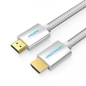 Câble HDMI (5M / 16ft), Vention PVC Bande de roulement en cuir tressé HDMI vers HDMI Câble HDMI 2.0 4k 3D 60FPS pour ordinateur portable LCD TV HD PS3 PS4 XBOX 360 Projecteur Câble d'ordinateur de la marque VENTION image 0 produit