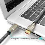 Câble HDMI vers HDMI, HDMI haute vitesse tressée en alliage de zinc câble HDMI 2.04K 1080p 3d pour PS3Vidéoprojecteur HD LCD Apple TV Câbles d'ordinateur de la marque SAMZHE image 2 produit