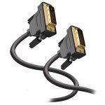 Câble JASDOIT 3m DVI-D mâle vers DVI-D mâle, Dual Link 24 + 1, résolutions HDTV 2560x1600,2x noyau en ferrite, conducteurs étamés en cuivre OFC, x.v.Color (Full HD 1080p 3D) pour jeux, DVD, Laptop, HDTV et Vidéoprojecteur de la marque FYELC image 1 produit