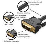 Câble JASDOIT 3m DVI-D mâle vers DVI-D mâle, Dual Link 24 + 1, résolutions HDTV 2560x1600,2x noyau en ferrite, conducteurs étamés en cuivre OFC, x.v.Color (Full HD 1080p 3D) pour jeux, DVD, Laptop, HDTV et Vidéoprojecteur de la marque FYELC image 2 produit