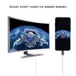 Câble USB 3.1 Type C vers HDMI,ProElechain Cordon Type C mâle (Thunderbolt 3 Compatible) à HDMI 4K@30hz, Adaptateur Pour 2016 MacBook Pro/2015 MacBook/Chromebook Pixel/Samsung Galaxy S8 etc(1,8 M) de la marque ProElechain image 2 produit