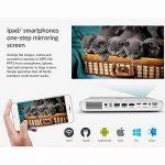 ceinter DLP Vidéoprojecteur mini portable projecteur home cinéma 3D Full HD 1080p avec métal Encapsulation Android 4.4os WiFi soutien Téléphone portable Bluetooth USB Airplay pour ordinateur portable tablette PC TV PS4Xbox de la marque CEINTER image 3 produit
