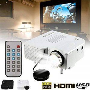 Cewaal Mini projecteur, (UE) UC28B Portable Home Cinéma Multimédia LED Projecteur Support USB TF Carte de la marque Cewaal image 0 produit