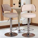 Chaise de barre de barre, barre chaise chaise ascenseur dossier de café caisse enregistreuse chaise de réception restaurant haute tabouret dinant la chaise 60-80CM de la marque Annp image 2 produit
