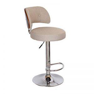 Chaise de barre de barre, barre chaise chaise ascenseur dossier de café caisse enregistreuse chaise de réception restaurant haute tabouret dinant la chaise 60-80CM de la marque Annp image 0 produit