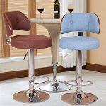 Chaise de barre de barre, barre chaise chaise ascenseur dossier de café caisse enregistreuse chaise de réception restaurant haute tabouret dinant la chaise 60-80CM de la marque Annp image 3 produit