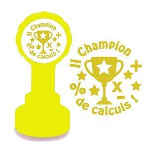 Champion de Calculs Tampon Français Auto-encreur pour Enseignants de la marque Xclamations image 0 produit