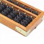 Chinese Lucky calculatrice Portable chinois en bois Abacus Arithmétique Outil de calcul de la marque erioctry image 1 produit