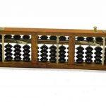 Chinese Lucky calculatrice Portable chinois en bois Abacus Arithmétique Outil de calcul de la marque erioctry image 3 produit