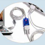 Chipset FTDI USB vers port série RS232DB9adaptateur convertisseur données Pluggable prise en charge Mac Windows Linux 3264bit PC pour ordinateur portable ordinateur portable PLC Système de la marque Shelley commerce image 2 produit