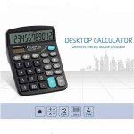 chou-rave calculatrice de bureau grosses touches à 12chiffres calculatrice de bureau solaire pour l'école Home Office de la marque Rabi image 2 produit
