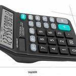 chou-rave calculatrice de bureau grosses touches à 12chiffres calculatrice de bureau solaire pour l'école Home Office de la marque Rabi image 3 produit