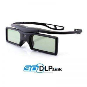 """Cinemax - Lunettes 3D DLP-Link """"Gravity"""" - 1 Paire - Compatible uniquement avec les videoprojecteurs 3D - Technologie """"Triple Flash 144Hz"""" réduisant la fatigue visuelle de la marque Cinemax image 0 produit"""