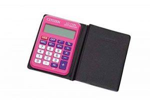 Citizen 39836 Calculatrice LC-110N Poche 8 Chiffres 87 x 58 x 12mm Plastique Rose de la marque Citizen image 0 produit
