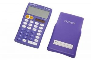 Citizen FC100N Calculatrice de table Lilas de la marque Citizen image 0 produit
