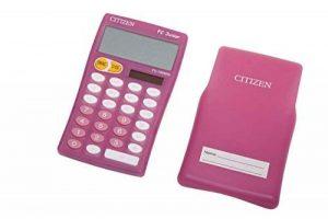 Citizen FC100N Calculatrice de table Magenta de la marque Citizen image 0 produit