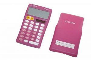 Citizen FC100N Calculatrice de table Magenta de la marque Citizen image 0 produit
