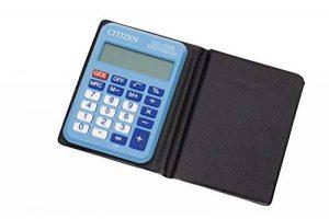 Citizen LC 110NBLCFS Calculatrice de poche Bleu Clair de la marque Citizen image 0 produit