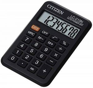 Citizen LC-210N Calculatrice de Poche de la marque Citizen image 0 produit