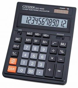 Citizen SDC 444S Calculatrice de table Noir de la marque Citizen image 0 produit