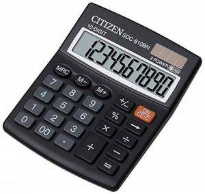 Citizen SDC 810 BN Calculatrice de Bureau de la marque Citizen image 0 produit