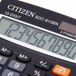 Citizen SDC 810 BN Calculatrice de Bureau de la marque Citizen image 3 produit