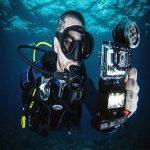 Éclairage Appareil Photo Vidéo Plongée Sous-marine Lumière étanche Caméra Kit Pour Gopro3 + 4 de la marque MagiDeal image 2 produit