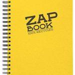 Clairefontaine 8354C Zap book Bloc d'esquisse spiralé 21 x 29,7 uni Coloris aléatoire de la marque Clairefontaine image 3 produit