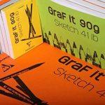 Clairefontaine 96696C GraF'it Dot Bloc collé - 80 Feuilles - A4 (29.7 x 21cm) - Bleu Ciel de la marque Clairefontaine image 3 produit