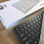 Clavier et Souris sans Fil Noire pour LG 49ub850V Smart 3D 4K Ultra HD 124,5cm LED TV de la marque ACAdaptorsRUS image 4 produit