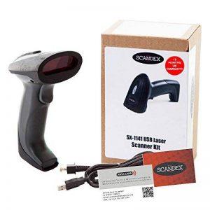 Code barre laser scanner compatible avec les applications câble USB. Scandex SX-1141. Manuels et vidéos de configuration disponibles. Garantie de 12 mois au Royaume-Uni. de la marque Scandex image 0 produit