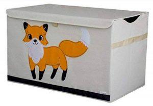 Coffre de Rangement / Boîte / Organiseur - Design de Renard - 61cm x 38cm x 37cm - Grande Capacité de Rangement - Le Coffre de Rangement d'animal parfait pour enfant de la marque Sun Cat Storage image 0 produit