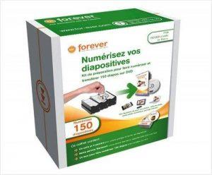 Coffret de numérisation de 150 diapos sur DVD de la marque Forever image 0 produit