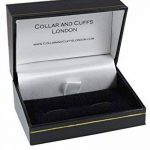 COLLAR AND CUFFS LONDON Boutons de Manchette AVEC BOITE-CADEAU - Grand Qualité - Abaque - Laiton - Couleur Argent - Ingénieur Prof Mathématiques La Physique Rectangle Compte Calculatrice Sciences de la marque COLLAR-AND-CUFFS-LONDON image 1 produit