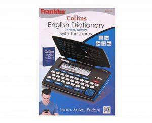 Collins English Dictionary with Thesaurus Express Edition (DMQ-221) de la marque Franklin image 0 produit