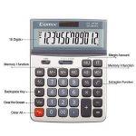 Comix Fonction Standard Calculateur de Bureau, Double alimentation, Angle d'écran réglable, Affichage 12 chiffres, CS-3222 de la marque COMIX image 1 produit